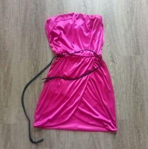 Speechless Strapless Mini Dress